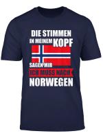 Norwegen Angel Angeln Norwegische Flagge Geschenk T Shirt