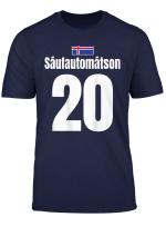 Lustiges Vatertag Island Sauf Trikot Mallorca Fussball T Shirt