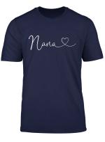 Nana Birthday Christmas Grandma Women Gift From Grandkid T Shirt