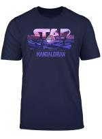 Star Wars The Mandalorian The Child Logo Fill T Shirt