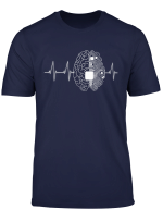 Machine Learning Ai Data Science Heartbeat Data Engineer T Shirt