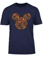 Disney Mickey Mouse Halloween Silhouette T Shirt