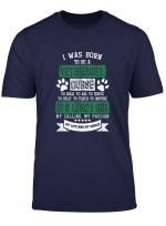 Born A Veterinary Nurse Vet Tech Animal Veterinarian T Shirt