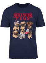 Flix Stranger Pugs Things Halloween Costume Gift Shirt