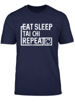 Eat Sleep Tai Chi Long Sleeve T Shirt