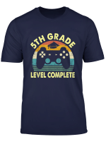 5Th Grade Level Complete Video Gamer Graduation Shirt