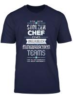 Herren Stolzer Chef Eines Fantastischen Teams T Shirt