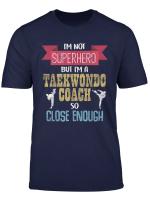 Coach Design Fur Taekwondo Fussball Geschenkidee Trainer T Shirt