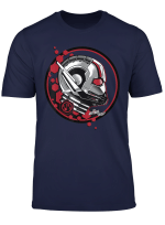 Marvel Ant Man The Wasp Red Hex Stamp Graphic T Shirt