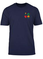 Schafkopf Kartenspiel Farben Des Bayrischen Blattes T Shirt