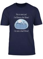 Tensei Shitara Slime Datta Ken Smile W Text Anime T Shirt