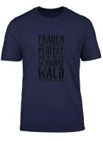 Frauen Aus Dem Schwarzwald Schwarz T Shirt