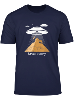 Ancient Alien Theory Novelty Shirt Ufo Conspiracy Tshirt