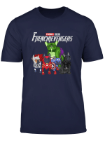 Frenchievengers French Bulldog T Shirt Funny Dog