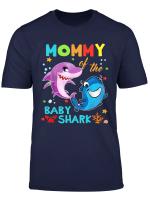 Mommy Of The Baby Shark Birthday Mommy Shark Shirt
