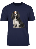 Cavalier King Charles Spaniel Gifts Dog Pop Art T Shirt