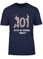 Dalmation Dog 101 Days Of School Tshirt Teachers Kids Gift
