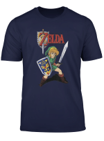 Nintendo Zelda Link To The Past Cartoon Art Graphic T Shirt