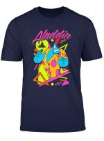Disney Aladdin Genie Retro 90 S Style Poster T Shirt