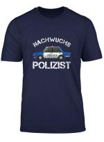 Nachwuchs Polizist Polizistin Polizeiauto Polizei Geschenk T Shirt