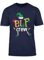 Elf Crew Christmas Elfen Weihnachtself Familie Weihnachten T Shirt