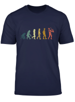 Evolution Saxophon T Shirt Saxophonspieler Saxophonist Musik