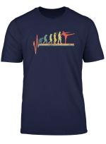 Kickboxing T Shirt Heartbeat Tshirt Evolution Tee Gift