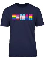 Human Flag Lgbt Pride Month T Shirt
