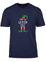 Womens I M The Queen Elf Matching Family Christmas T Shirt