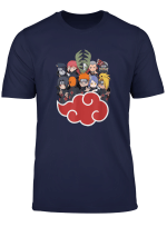 Naruto Akasuki Group Sd T Shirt