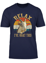 Retro Vintage Relax I Ve Goat This Tshirt Goat Lover Gifts
