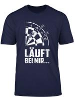 Lauft Bei Mir Darts Darten Bullseye Geschenkidee T Shirt