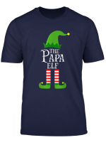 Mens The Papa Elf Family Matching Group Christmas Party Gift T Shirt