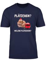 Welche Platzchen Weihnachten Lustiges Hamster T Shirt
