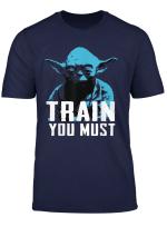 Star Wars Yoda Train You Must Graphic T Shirt