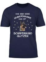 Deutscher Schaferhund Hundehaare T Shirt Damen Herren