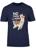 Woman No Drama Llama Funny Lama T Shirt