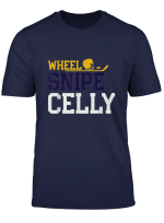 Hockey Team Wheel Snipe Celly Shamrock Shamrocks T Shirt