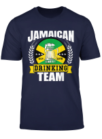 Jamaican Drinking Team Funny Jamaica Flag Beer Party Gift T Shirt