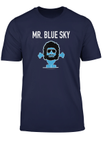 Mr Blue Sky T Shirt Blue Lovers T Shirt