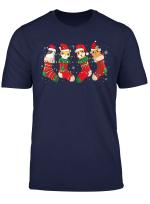 Guinea Pig Christmas Socks Funny Guinea Pig Lover Xmas Gifts T Shirt