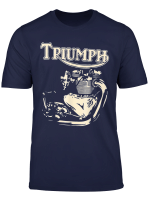 New Triumph Engine Motorcycle Cycling Tshirt