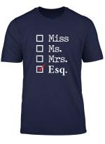 Women Lawyer Attorney Law School Graduation Gift Lawyer T Shirt