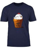 Funny Chicken Pie Pi Day T Shirt Gift Student Teacher Men