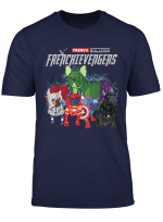Frenchievengers Funny Dog French Bulldog Shirt