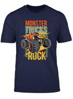 Monster Truck Rock Shirt Kinder Jungen Geschenk Lustig T Shirt