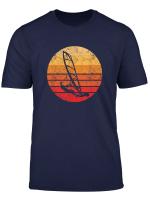 Windsurf Windsurfing Shirt Gift Retro Sunset Vintage