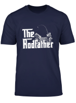 The Rodfather Funny Fishing Tshirt For Fisherman Tee