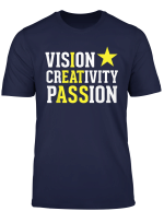 Vision Creativity Passion Funny Hidden Message I Eat Ass
