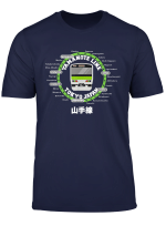 Yamanote Line Tokyo Commuter Loop Line T Shirt